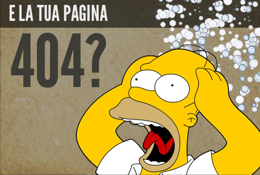 404 per il marketing